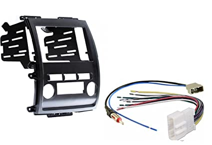 nissan frontier xterra 2009 2013 aftermarket radio stereo double din dash kit w wire harness \u0026 antenna adapter 2012 Nissan Frontier ABS Wiring