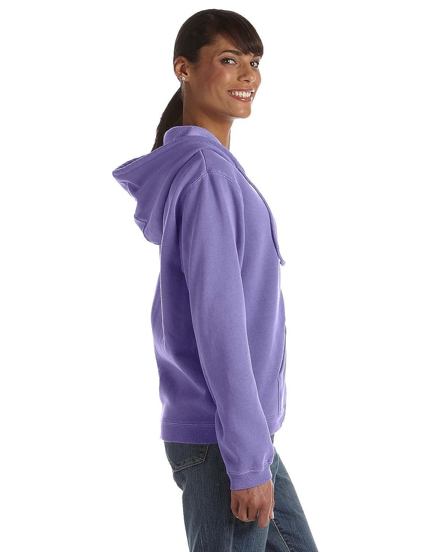 Comfort Colors Pigment-Dyed Ladies Full-Zip Hooded Sweatshirt