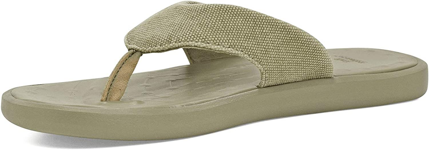 Step into the Comfort Zone RRP £40 SoftScience Skiff Flip Flop Canvas Unisex