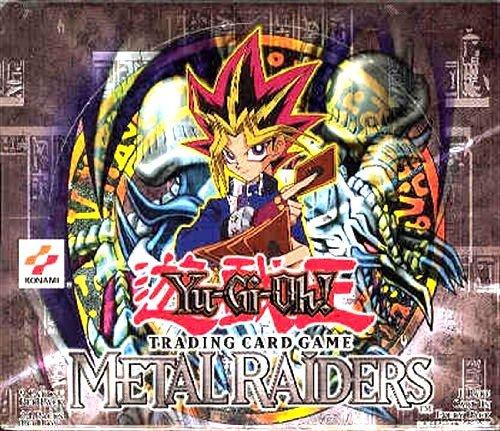 Metal Raiders Booster Pack - YuGiOh Metal Raiders 1st EDITION Booster Box [24 Packs]