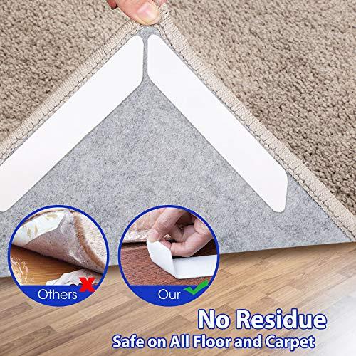 MAT Grips Non Slip Slide Anti Skid Carpet RUG 8//16Pcs Hallway Runner Gripper