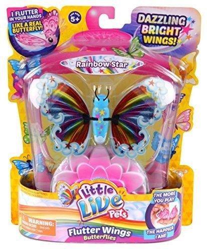 Little Live Pets Butterflies Series 3 Rainbow Star