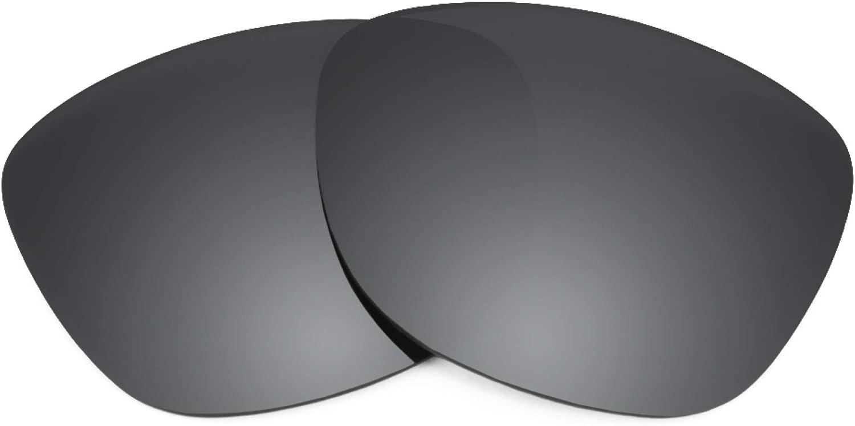 Revant Verres de Rechange pour Oakley Mainlink - Compatibles avec les Lunettes de Soleil Oakley Mainlink Chromé Noir Mirrorshield - Polarisés
