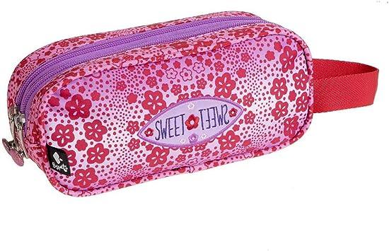 Busquets Estuche 2 Compartimentos Sweet by: Amazon.es: Juguetes y juegos