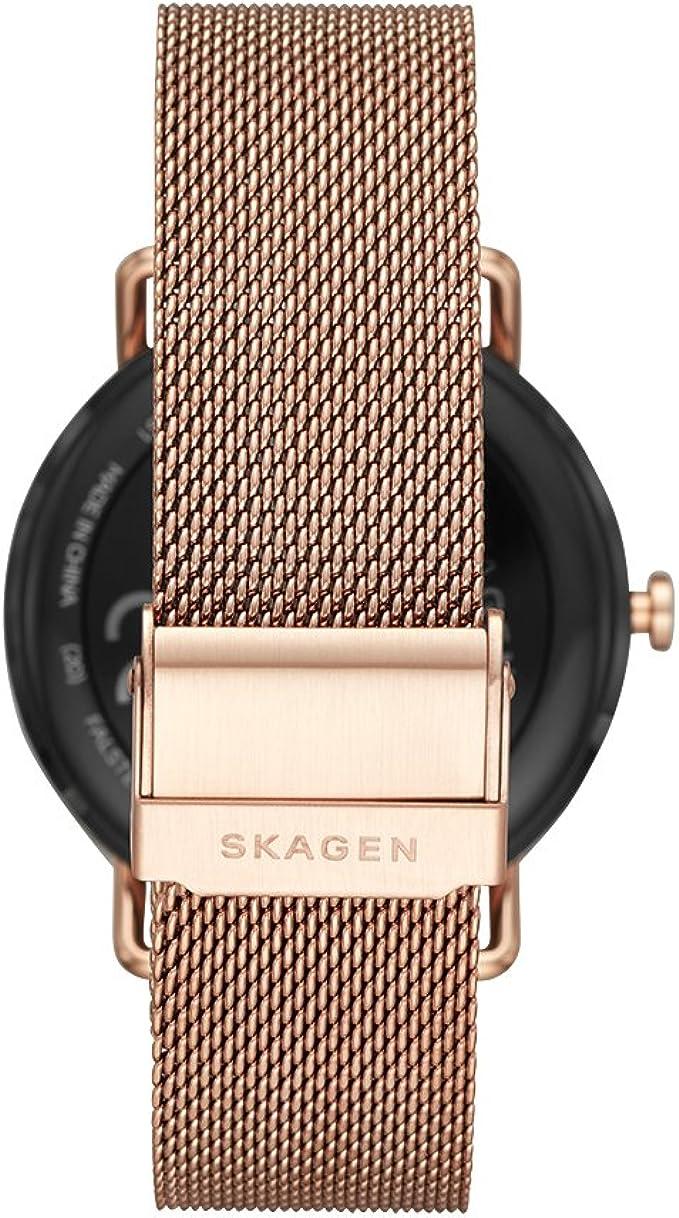 Amazon.com: Skagen Falster malla de acero inoxidable ...