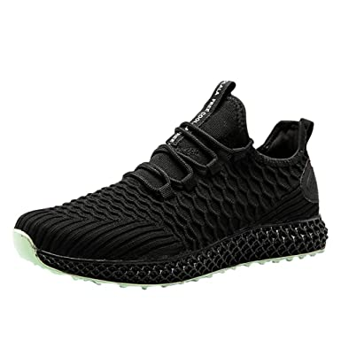 Amazon.com: Goddessvan Hiking Shoes for Men Trail Running Sneakers ...