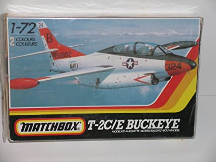 Amazon.com: Matchbox T-2 C/E Buckeye Aviones --- Kit de ...