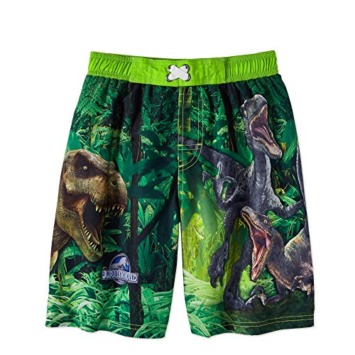 Jurassic World Boys Dinosaur Swim Trunks Shorts (Small 6/7) for $<!--$49.99-->