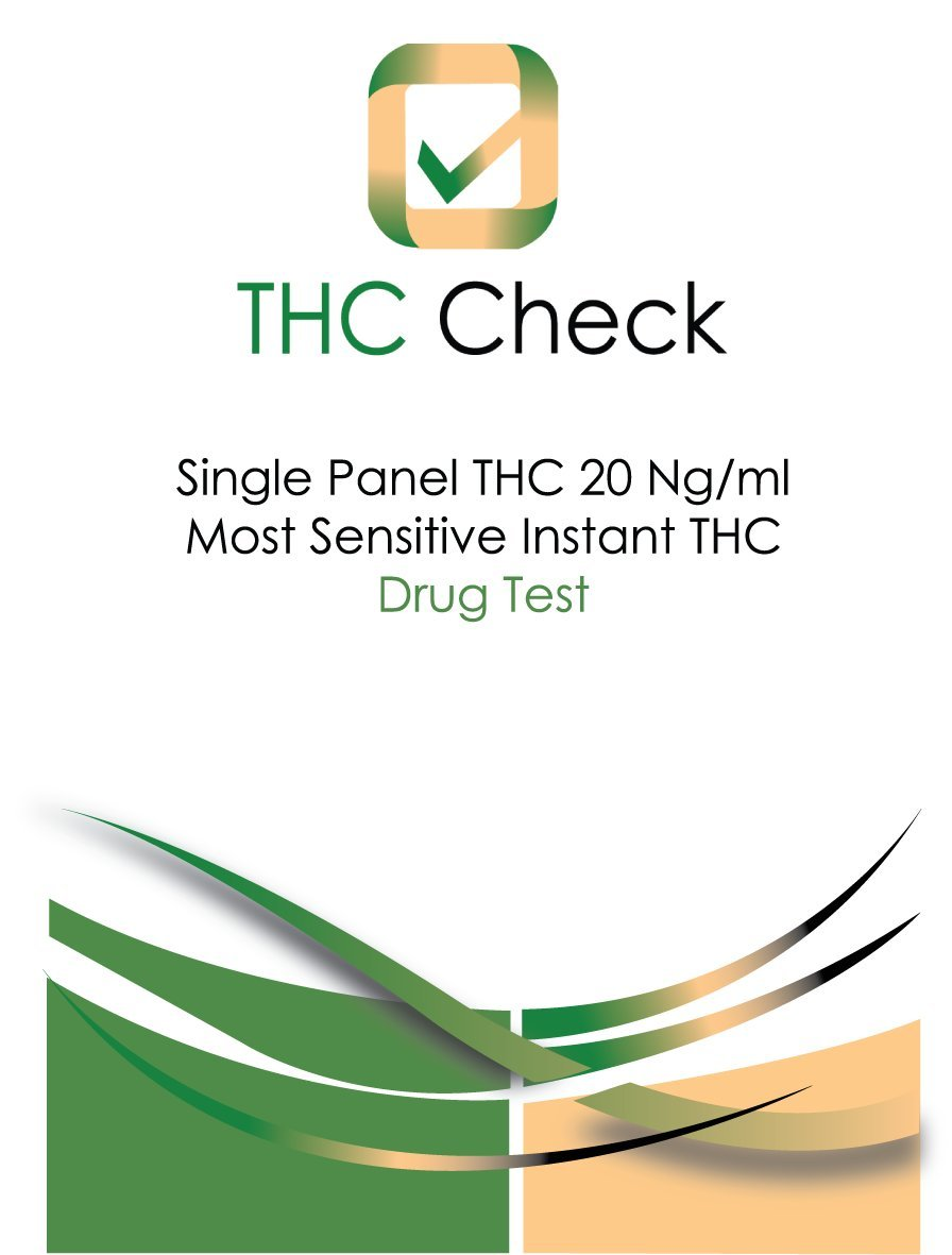 ThcCheck(tm) Combo Pack: 50 ng and 20 ng test kits