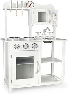 Theo Klein 9458 - Miele Cocina De Juguete, Madera (MDF), Color Blanco, Mediana: Amazon.es: Juguetes y juegos