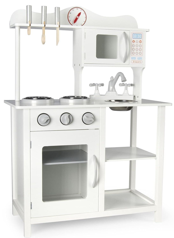 Moderno Cocina Madera Infantil Cocina de Juguete Accesorios Para ...