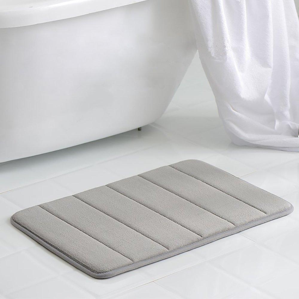 VANRA Alfombra de baño de Espuma viscoelástica, Extra Suave, Absorbente, Antideslizante, Alfombrilla de baño con Parte Inferior Antideslizante, ...