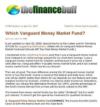 The Finance Buff