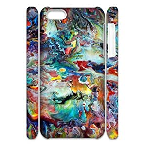 3D Doah Painting Ideas for Beginners IPhone 5C Cases, [White]