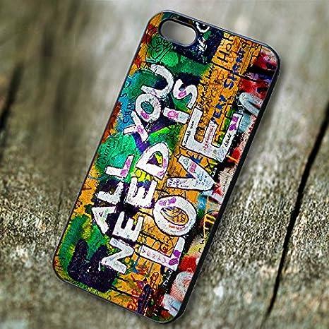 All You Need Is Love grafitti para Funda iphone 6 and Funda ...