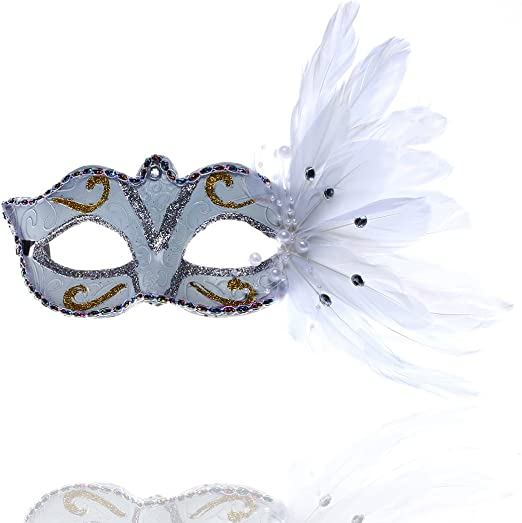 Hyaline & Dora lujo veneciano mascarada máscara máscara de ojo ...