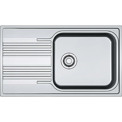 Franke 101.0368.321 in acciaio INOX di seta per lavello da cucina – grigio