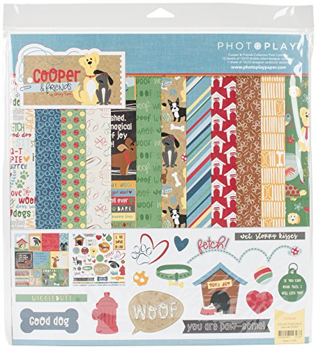 Photo Play Paper PPCF2397 Photo Play Collection Pack 12''X12'' - Cooper & Friends by Photo Play Paper