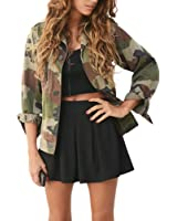 Women Camouflage Jacket Coat ❤Luca ❤ Autumn Winter Street Jacket