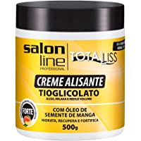 Creme Alisante - Manga Forte Pote, 500 gr, Salon Line, Salon Line