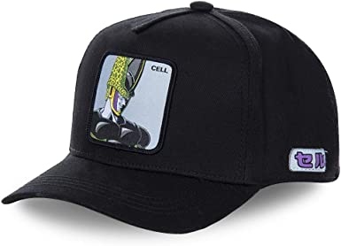 Collabs Gorra Dragon Ball Z Cell Negro OSFA (Talla única para ...