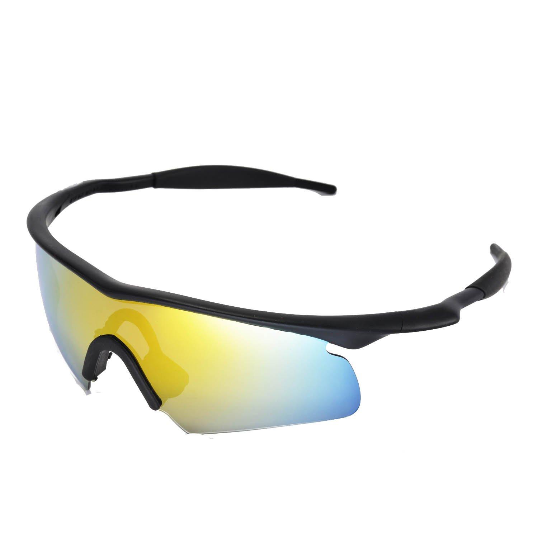 Amazon.com: Walleva Replacement Lenses for Oakley M Frame Hybrid ...