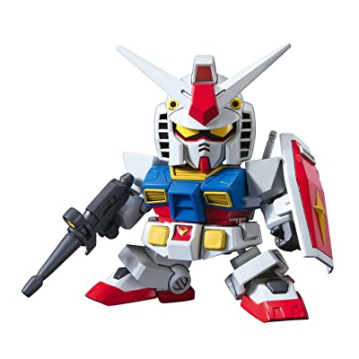 Bandai Hobby BB#329 RX-78-2 Gundam Animation Color SD Action Figure: Toys & Games