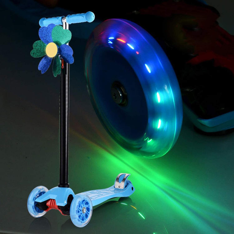 GreceMonday 80Mm Led Flash Wheel Mini Or Maxi Micro Scooter Flashing Lights Back Rear Abec-7
