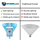 FunnelCam - Blue Beer Bong with Patented
