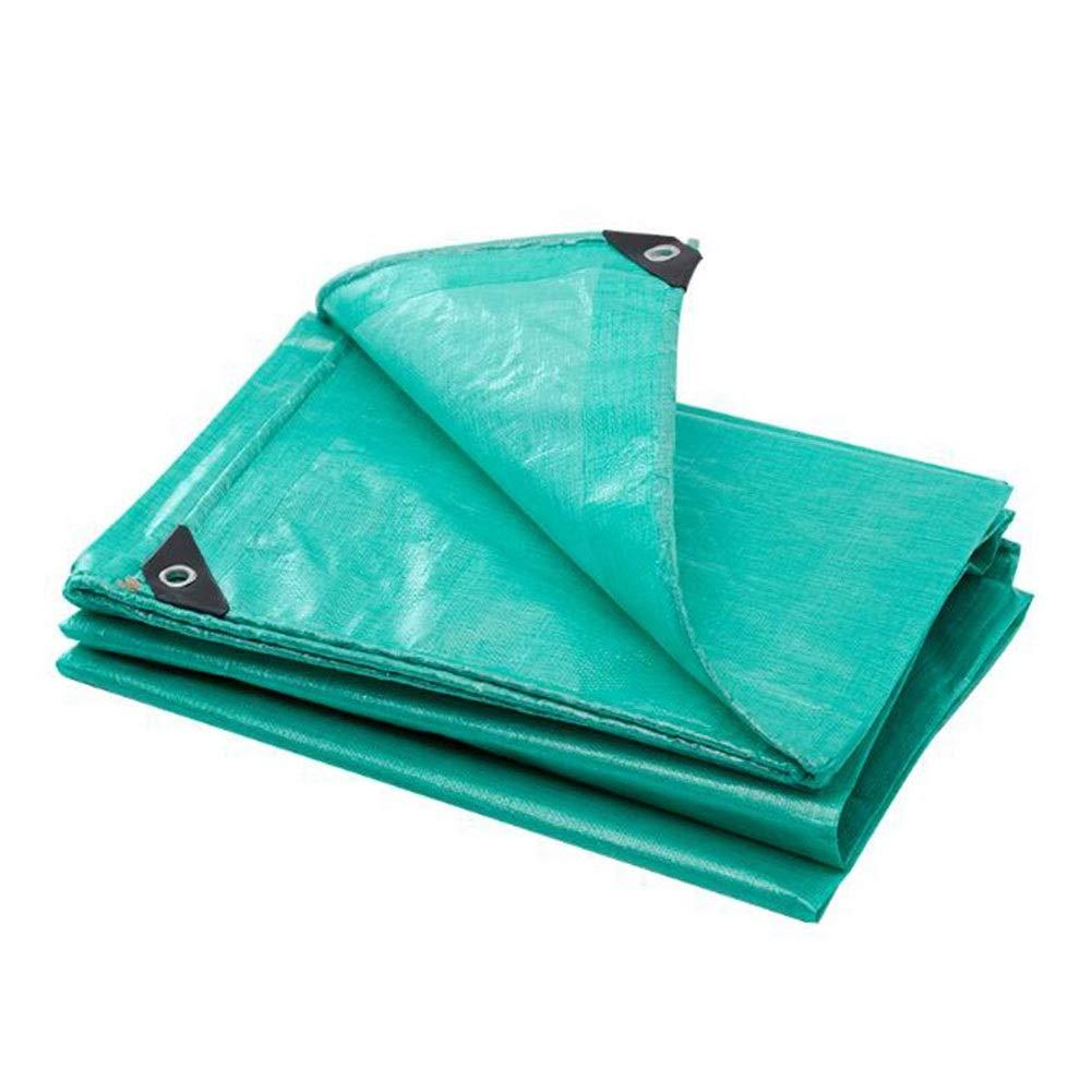 vert 3×3m Dall BÂche Imperméable étanche à La Pluie De Plein Air Durable Résistant à l'usure Résistant UV Passe-Fils en Métal Bords Renforcés (Couleur   vert, Taille   4×5m)