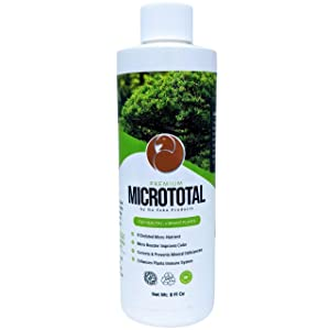 Liquid Bonsai Fertilizer Food Supplement - Micrototal Liquid Tree Fertilizer Helps Provide Trace Elements That Bonsai Trees Need When You See a Nutrient Deficiency