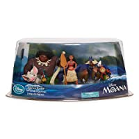 Disney Collection Moana 5 Piece Playset Moana Maui HEI HEI Pua Tamatoa