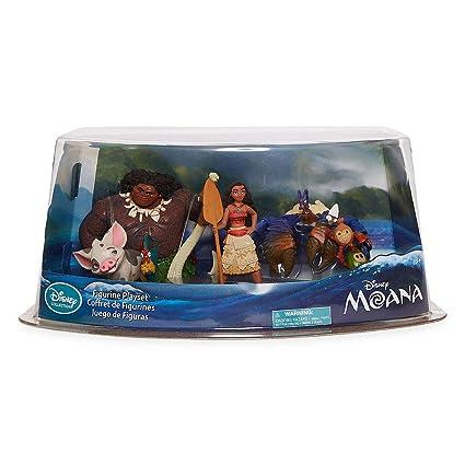 Amazon.com: Disney Collection Moana 5 Piece Playset Moana ...