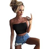 Women Strapless Elastic Boob Bandeau Tube Tops Bra Lingerie Breast Wrap