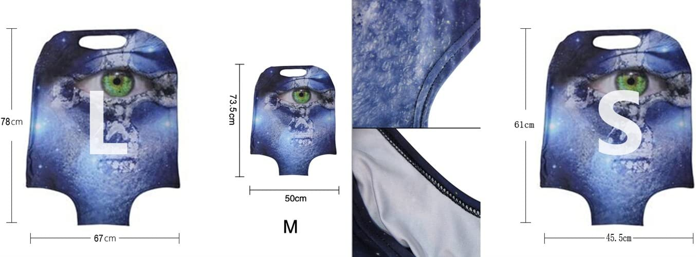 Color : Picture5 , Size : S-150g Travel Luggage Covers fit most 18-32 inch,Printing Suitcase Protector Spandex and polyester Protectors