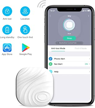 Wonbo Anti-Lost Bluetooth Tracking Locator with APP Control