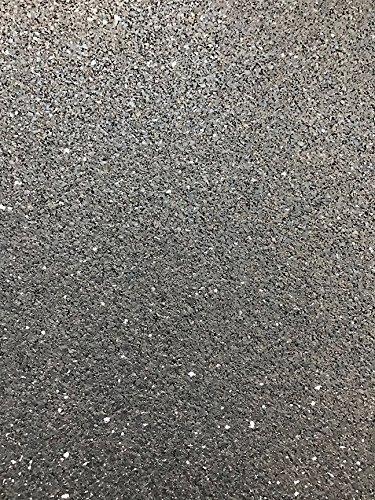 Iron-Lock USA-MADE Garage Gym Interlocking Rubber Flooring Kit - (16) Natural Black tiles 19.5'' x 19.5'' x 1/4'' (42.25 sq feet) by Ironcompany.com (Image #3)