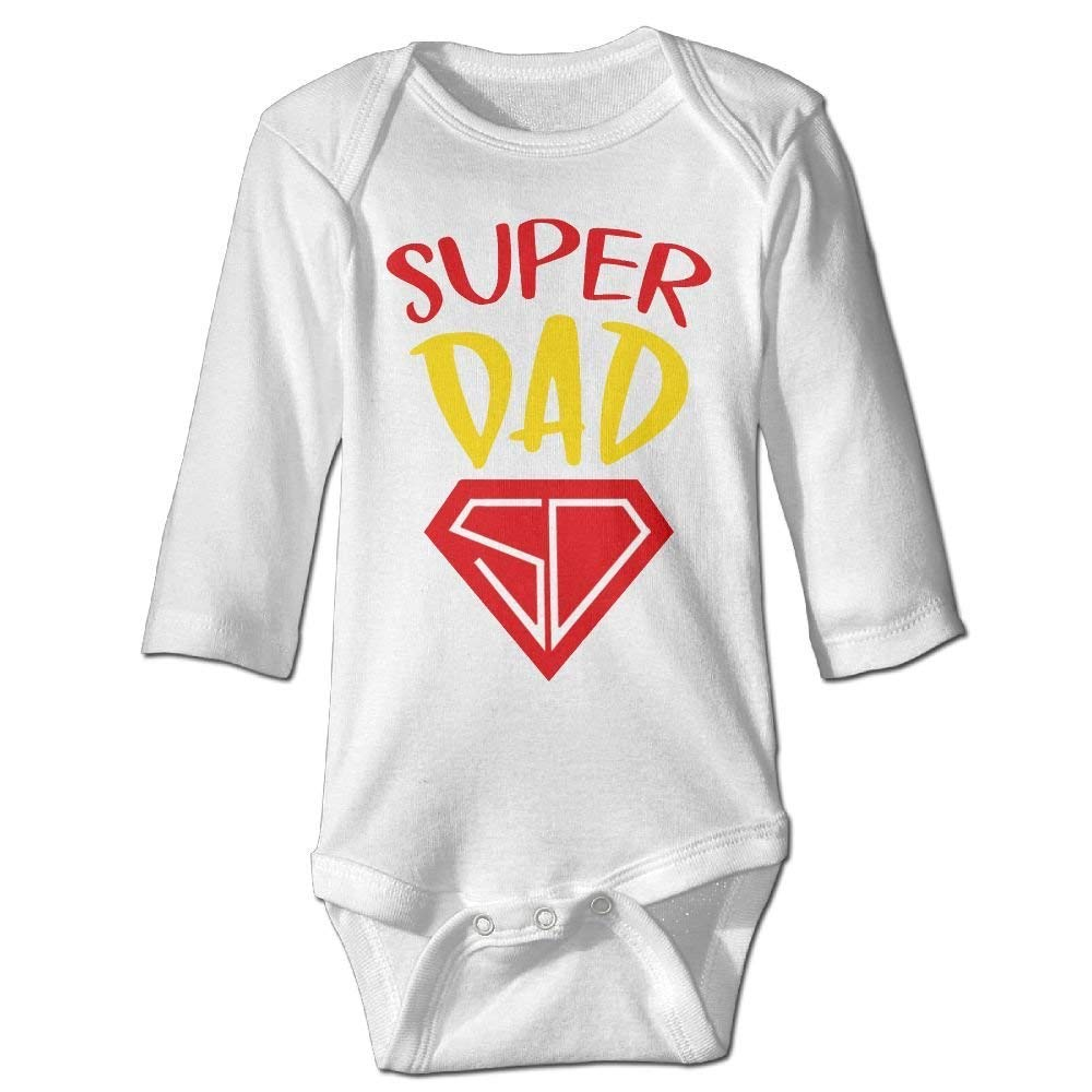 My Super Dad Baby Jumpsuit,Nation 0-24 M Baby/Â Infant Boy Girl Cotton Romper Bodysuit Clothes