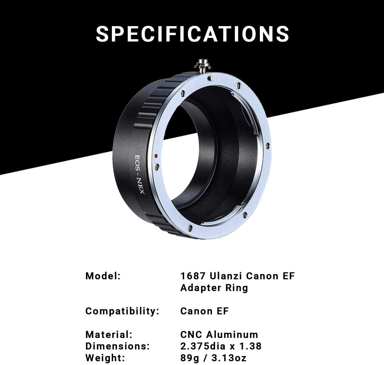 ghdonat.com Ulanzi DOF Lens Adapter for Sony E-Mount Compatible ...