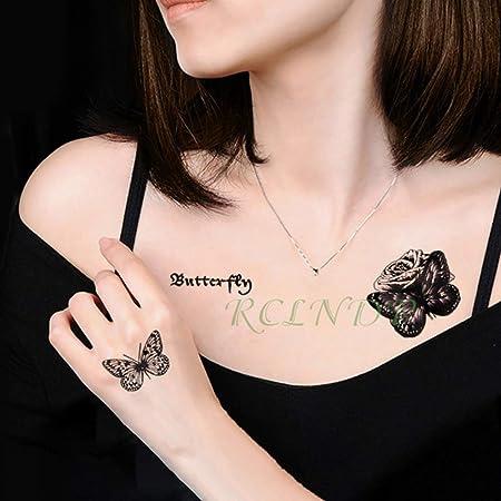 5 PC Impermeabilizan la Etiqueta engomada del tatuajeTatto ...