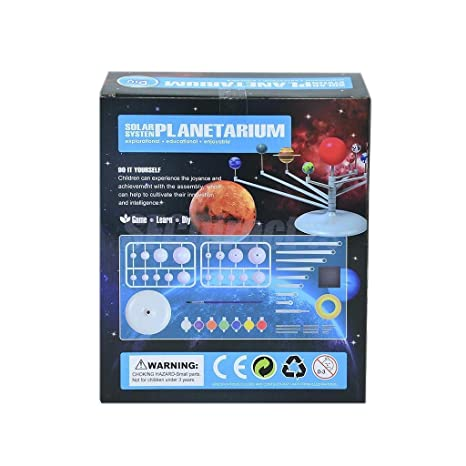 Educational Toys Glow In The Dark Kids Educational Solar System Mobile Science Toy New