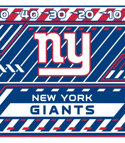 Nfl Stretch Book Covers - Turner NFL New York Giants Stretch Book Covers (8190185)