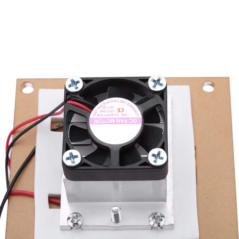 Semiconductor Refrigeration,144W Dual-core Cooling Devic Peltier Air Cooling Dehumidification Equipment