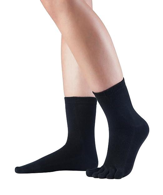 Knitido Essentials Midi | Calcetines con dedos en algodón hombre y mujer para uso cotidiano: Amazon.es: Ropa y accesorios