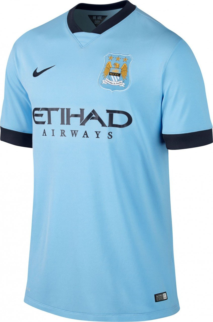 buy online d55fe 13795 Nike Manchester City Home Jersey
