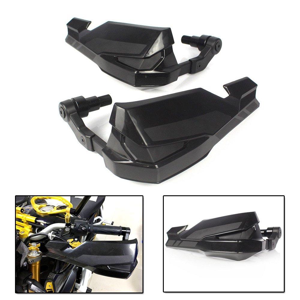 Motocicleta Manillar de manillar negro Mango de protecci/ón Protector para el cepillo protector de mano para 2017 Kawasaki Z900 ZR900 Z ZR 900 17