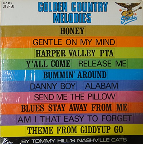 Golden Country Melodies - Slp Cat