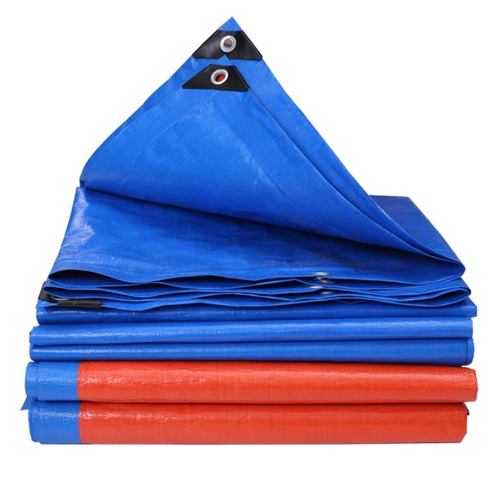 ALLIWEI Verdickte Regenschutzplane Außen Schatten Tuch Kunststoff Kunststoff Tuch Tuch Hohe Dichte Vorbereitung Camping Picknick Feuchtigkeitsfest Strahlungsfest Licht Auto Plane, 180g   Quadratmeter (größe   6x8m) 758ce6