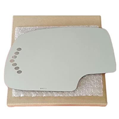 Mirror Glass and Adhesive 03 - 06 Chevy Silverado / 03 - 06 GMC Sierra / 00 - 06 Tahoe / 00 - 06 Suburban Driver Left Side Replacement - FITS OVER POWER HEATED TURN SIGNAL MIRROR ONLY