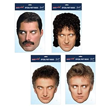 Queen Band Masks